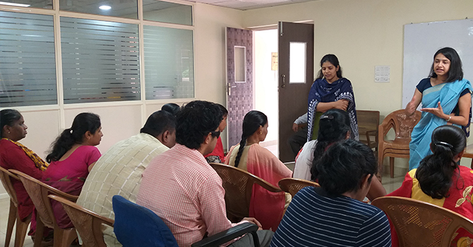 Pragya 2019 Teacher Trainings in collaboration with Canara Bank Relief and Welfare Association (Matruchhaya)